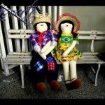 Delightful Fasoarte Rag Dolls by Elaine Fasoli