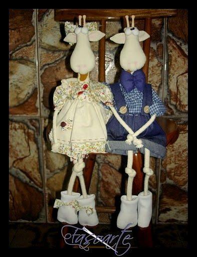 Elaine Fasoli Rag Dolls